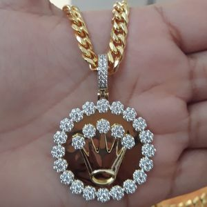 14k Gold Finish Icedout Necklace!! for Sale in Los Angeles, CA