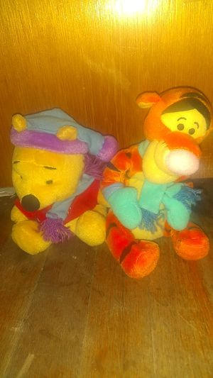 Christmas Pooh Bear and Tigger Plushies for Sale in Sacramento, CA