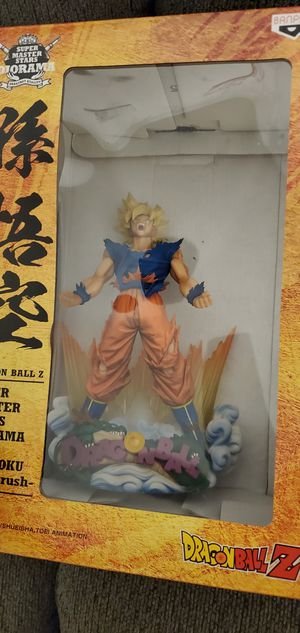 Dragonball Z super saiyan son goku X plus for Sale in Chicago, IL