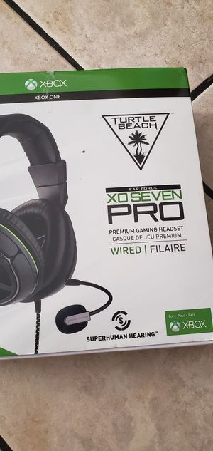 Turtle beach xbox one Pro for Sale in South Gate, CA