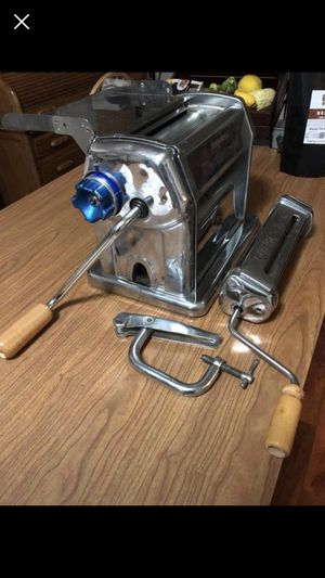 """Pasta maker - Imperia""""R220""""Manual Stainless Steel Pasta Machine for Sale in The Plains, VA"""