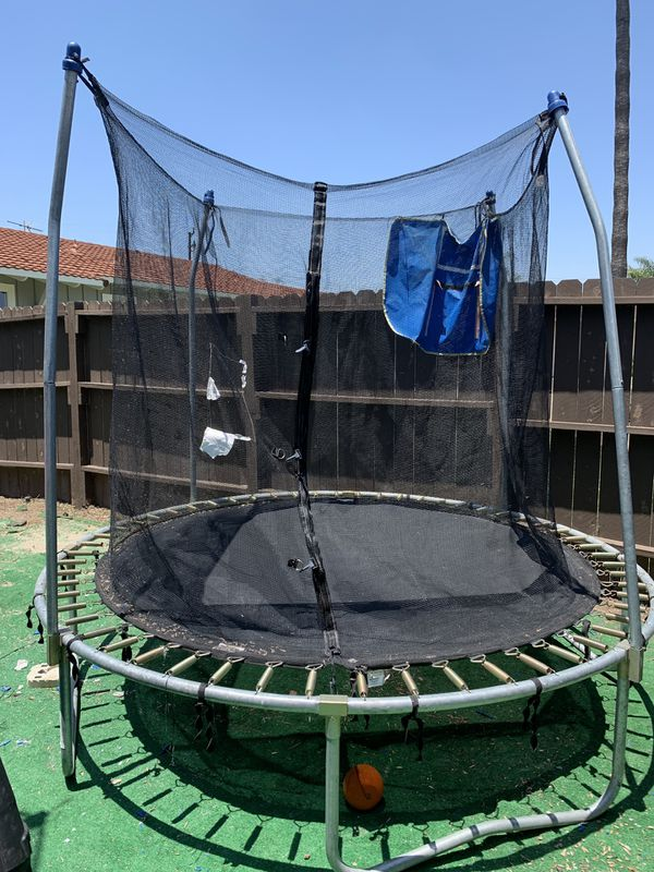 8ft kids trampoline great condition!