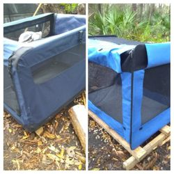 2 Light Weight Zip Up Dog Kennels for Sale in Ruskin,  FL