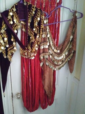 Belly dancer outfit $35.00 for Sale in Burlington, MA