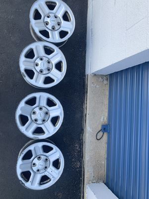 4***17 inch stock Jeep rims***5 lug***Good condition for Sale in Denver, CO