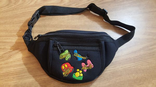 Mickey Mouse Disney License fanny pack