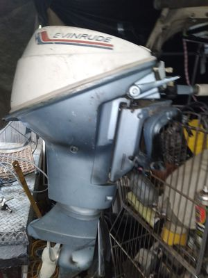 1968 9.5 Evinrude Johnson 2 Stroke outboard engine motor for Sale in Citrus Heights, CA