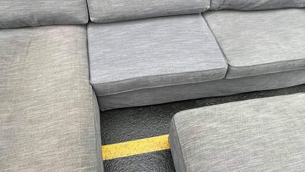 ikea kivik sectional couch with ottoman deivery avalaible for Sale in Shoreline,  WA