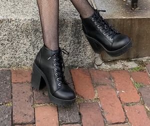 Black heeled boots H&M for Sale in Warwick, RI
