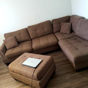 Sofa and ottoman for Sale in Fresno, CA
