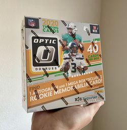 2020 Fanatics xclusive Donruss Optic NFL Mega Box for Sale in Alameda,  CA