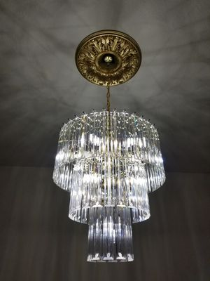 Gold chandelier for Sale in Houston, TX