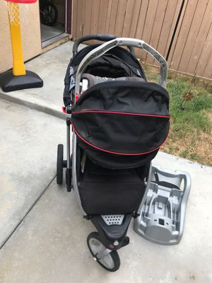 Graco jogging stroller and car seat for Sale in San Diego, CA