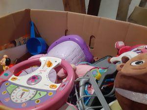 Box of toys for Sale in Alexandria, LA