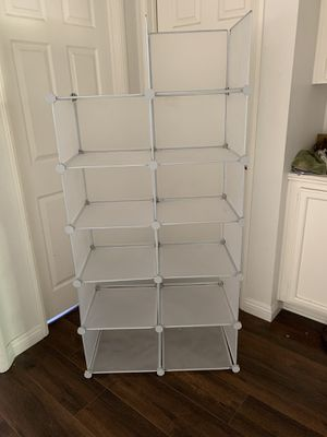 """Closet organizer 10"""" x 14 1/2 each square for Sale in Upland, CA"""