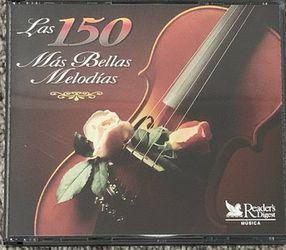 Las 150 Más Bellas Molodías Songs CD for Sale in Chapel Hill,  NC
