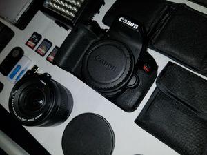 Canon T7i Bundle Dslr Camera for Sale in Charlotte, NC
