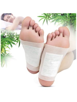 Foot Pads - (100pcs) Natural Cleansing Foot Pads for Foot Care, Sleeping & Anti-Stress Relief, No Stress Package - 100 Packs for Sale in Las Vegas, NV