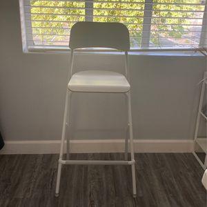 New Ikea White Bar Stool for Sale in Phoenix, AZ