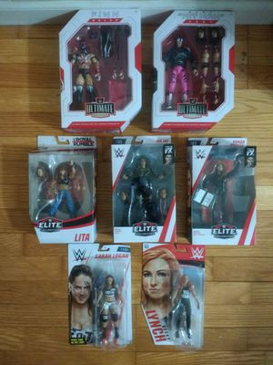 Wwe 7 figures for Sale in Nesconset, NY