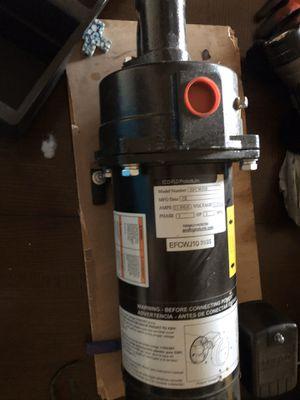 Eco jet 1 hp deep well cast iron pump for Sale in Abilene, TX
