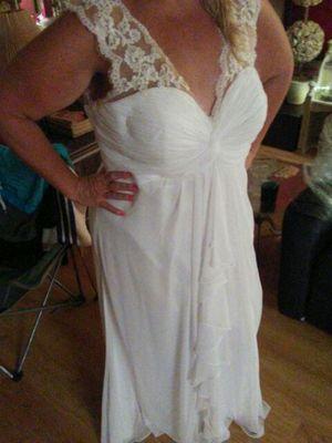 Beautiful white dress brand new xl for Sale in West Palm Beach, FL