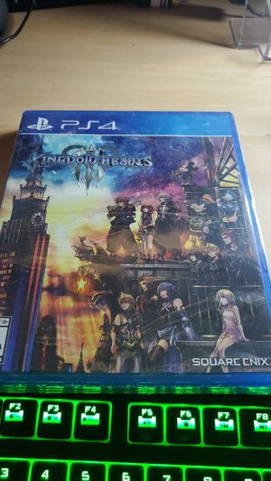 Kingdom hearts 3 for ps4. New. Sealed. for Sale in San Diego, CA