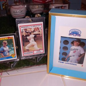 TOMMY LASORDA, DON SUTTON AND HANK AARON EXCLUSIVE 2020 SET R.I.P. for Sale in Whittier, CA