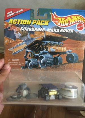 Hot wheels 1996 rover mission to Mars. Mint condition for Sale in Huntington Beach, CA