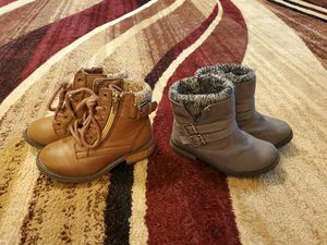 Toddler girls size 8c boots for Sale in Franklin, IN