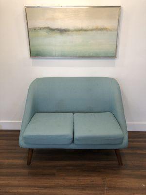 Love seat $35 OBO (painting optional +$25 OBO) for Sale in Glendale, CA