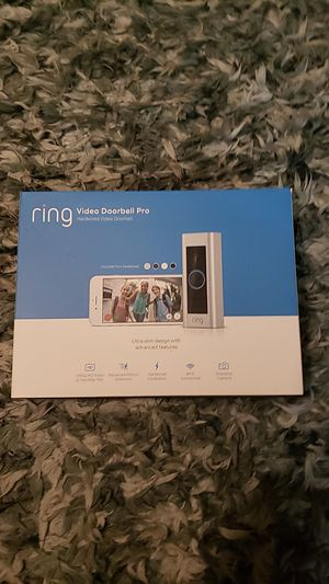 Ring Video Doorbell Pro for Sale in Beaverton, OR