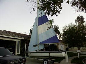 SAILBOAT , Capris 14.2 with trailer for Sale in Corona, CA