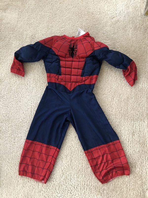 Toddler Spider-Man Costume