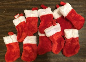 Mini Christmas Stockings for Sale in West Palm Beach, FL