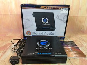 PLANET AUDIO ANARCHY SERIES MOSFET MONOBLOCK POWER AMPLIFIER bcp5200 for Sale in Huntington Beach, CA