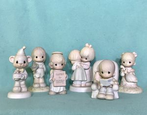 Set of 6 precious moments collectible figurines for Sale in Salem, OR