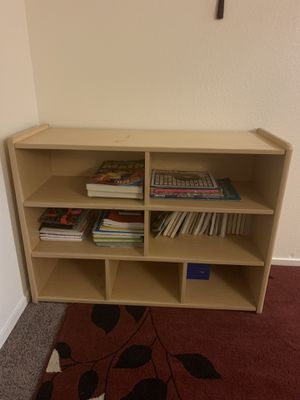 Kids bookshelves and studying table with 3 chairs 🪑!😄 $150 each!😊 for Sale in Sacramento, CA