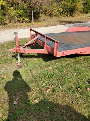 Dove tail trailer 18 feet long. for Sale in Hillsboro, MO
