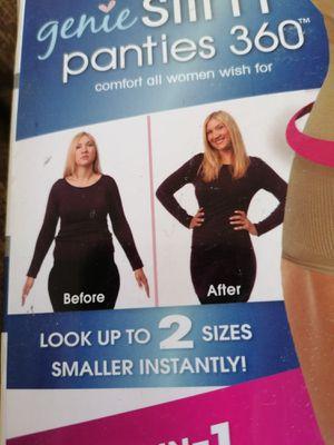 Brand new Genie Slim Panties 2 slimming panties black & Nude for Sale in Spring Valley, CA