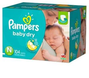 Pampers Newborn 104ct for Sale in Lakeside, CA