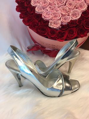 Louis Vuitton silbe slingback sandal heels size 35.5 for Sale in San Diego, CA