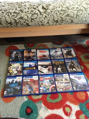 PS4 games... Mostly Unused for Sale in La Costa, CA