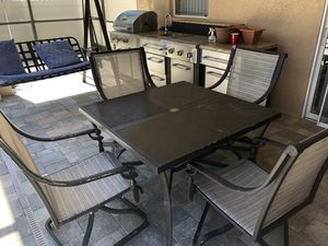 Patio furniture and swing for Sale in Westchase, FL
