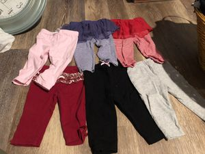 6-9 month baby gurl clothes lot for Sale in Hammonton, NJ