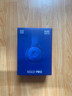Beats Solo Pro Headphones (New, open box) for Sale in Brooklyn, NY