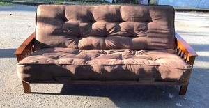 BROWN FUTON SOFA BED for Sale in Pinellas Park, FL