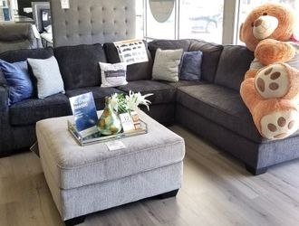 FREE DELIVERY ‼️NEW GREY SECTIONAL SOFA for Sale in Oviedo,  FL