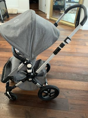 Bugaboo chameleon 3 with cup holder,scooter, car seat and SCOOTER adapters, also have NUNA PIPA car seat adapter! for Sale in FL, US