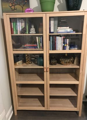 IKEA pine cabinet for Sale in Atlanta, GA